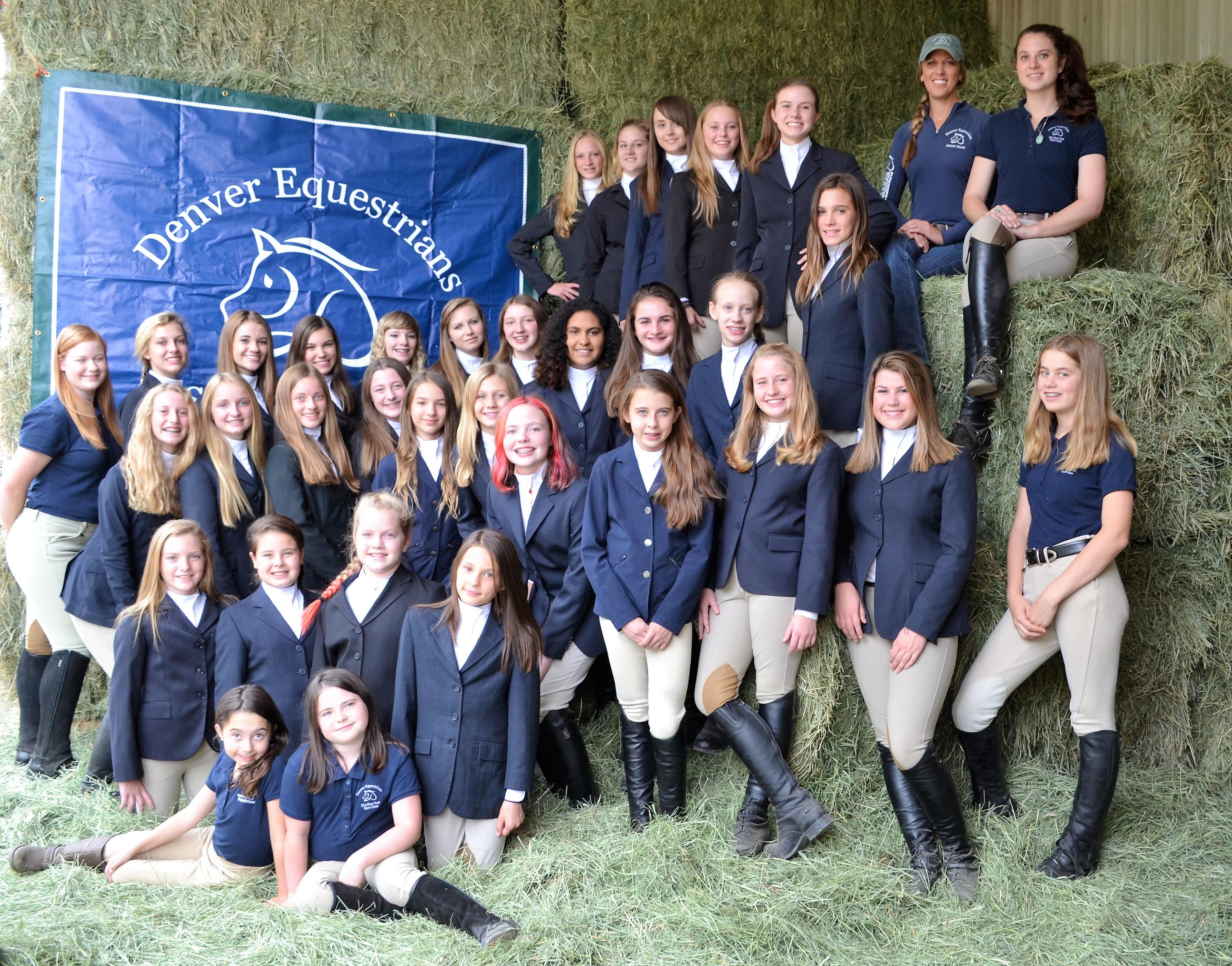 Denver Equestrians Show Team